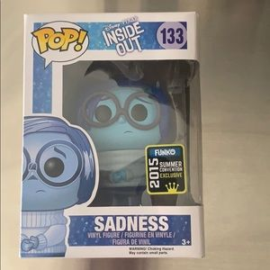 Vinyl Figure SADNESS from Inside Out